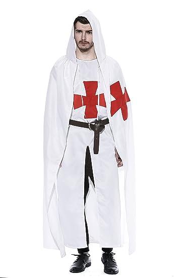 dream cosplay Disfraz de Caballero Medieval para Hombre ...