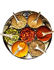 Curry Spice Kit - 10 Authentic Spices Refill + A FREE Packet of Fenugreek Seeds