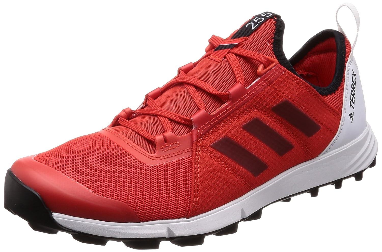Adidas Terrex Agravic Speed, Zapatillas de Trail Running para Hombre 40 EU|Rojo (Roalre/Negbas/Naranj 000)