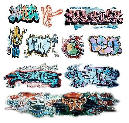 O scale custom graffiti decals 3