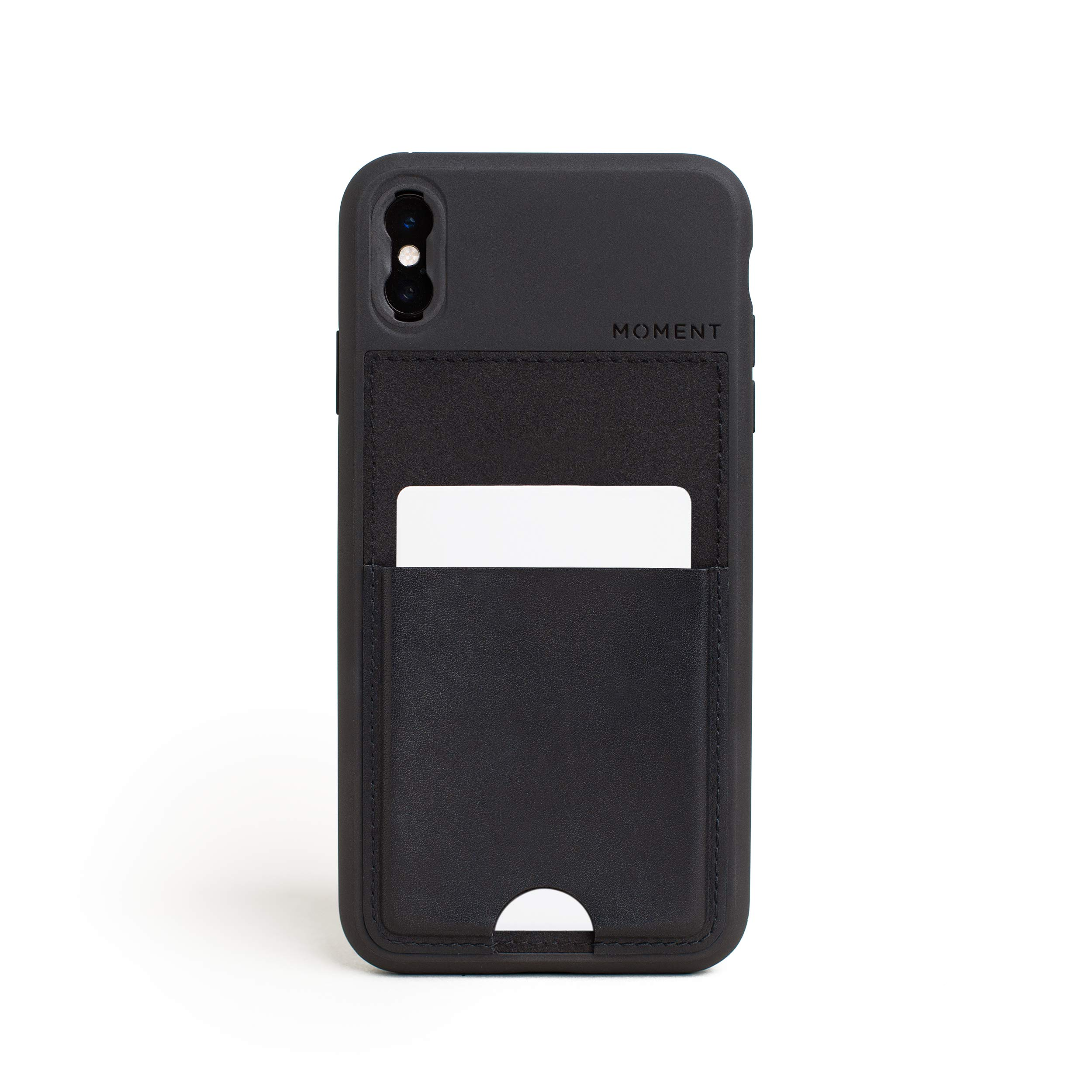 ویکالا · خرید  اصل اورجینال · خرید از آمازون · Moment iPhone Xs Max Wallet Case Photo Case in Black Leather - Thin, Protective, Wrist Strap Friendly Wallet case for Camera Lovers. wekala · ویکالا