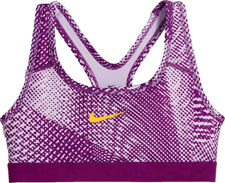 Nike niña Pro - Sujetador Deportivo, niña, 859939, Morado, 156 ...