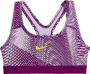 Nike niña Pro - Sujetador Deportivo, niña, 859939, Morado, 156: Amazon.es: Deportes y aire libre