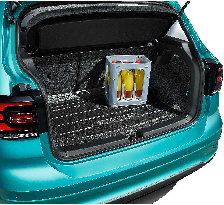 YEE PIN Tiguan 2 SWB Doublure de coffre Plateau de plancher de coffre de voiture Tapis de toit Doublure de toit /étanche Antid/érapant empattement standard uniquement