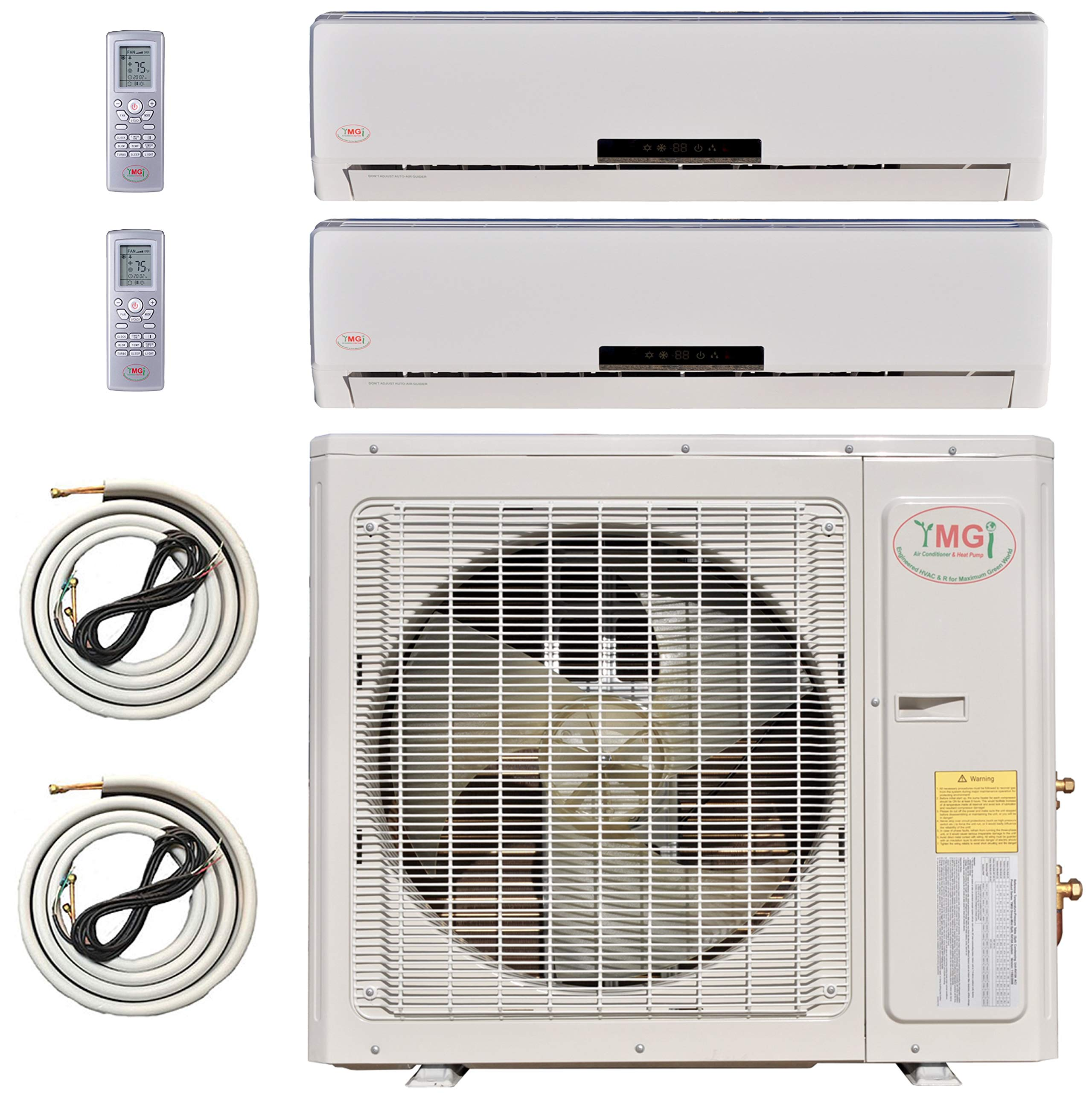 Ymgi Multi Zone Mini Split Ductless Air Conditioner Dual