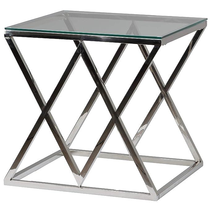 Amazon.com: Cortesi Home Gwen contemporáneo mesa de consola ...