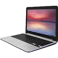 ASUS C201 11.6 Inch Chromebook (Rockchip, 2 GB, 16GB SSD, Navy Blue)