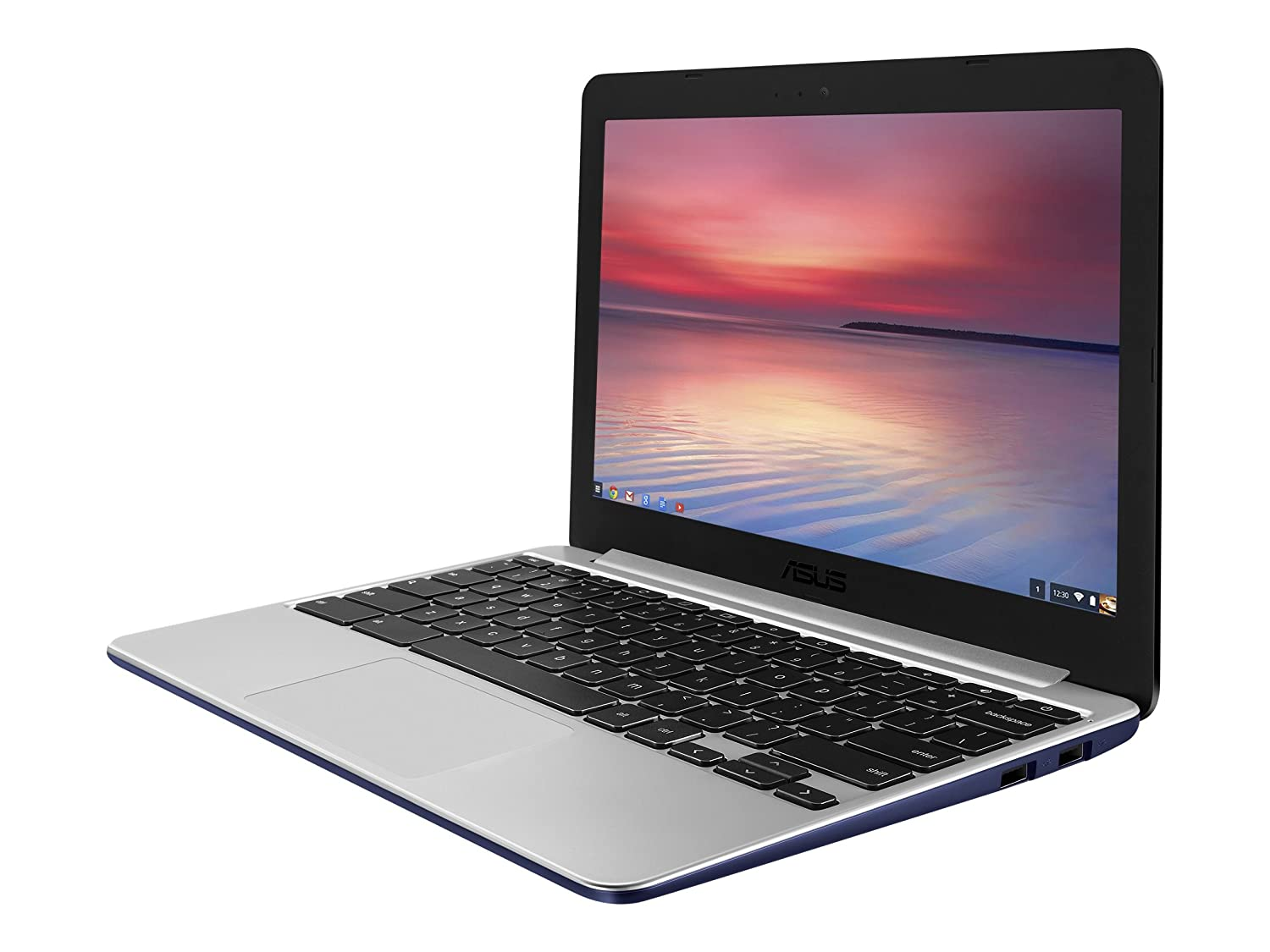 The ASUS C201 is a lightweight Chromebook that makes an excellent addition to your kid's bag.