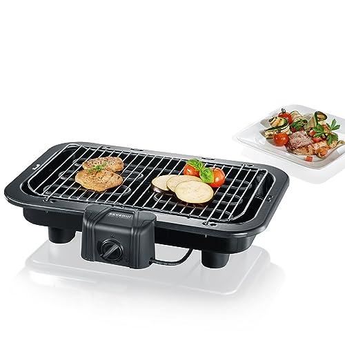 Severin - 2790 - Barbecue de table - 2500 W - XXL - noir