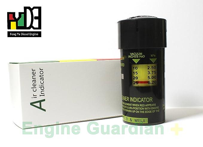 Amazon.com: Aire más limpio Filtro Indicador de flujo 1 W613 ...