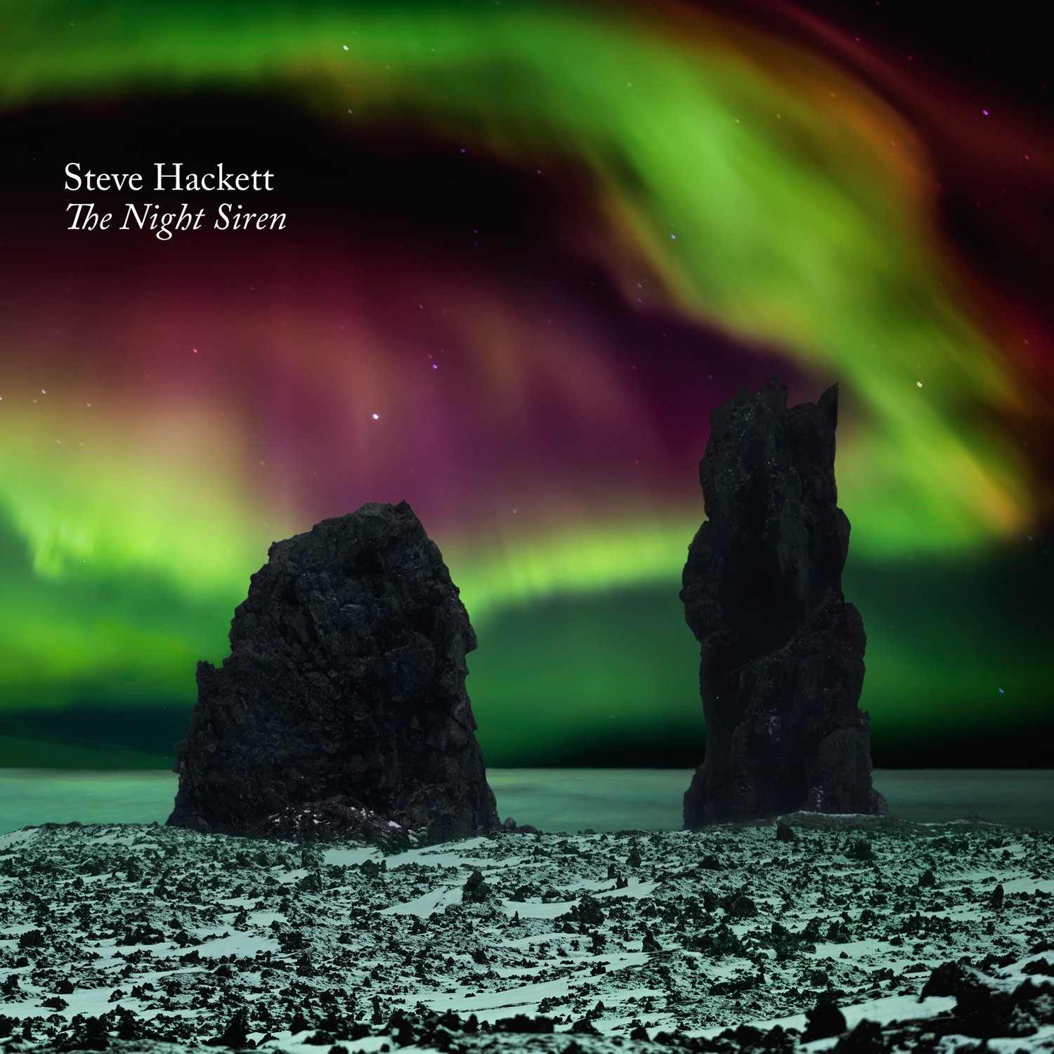 CD : Steve Hackett - The Night Siren (With Blu-Ray, Digipack Packaging, 2 Disc)