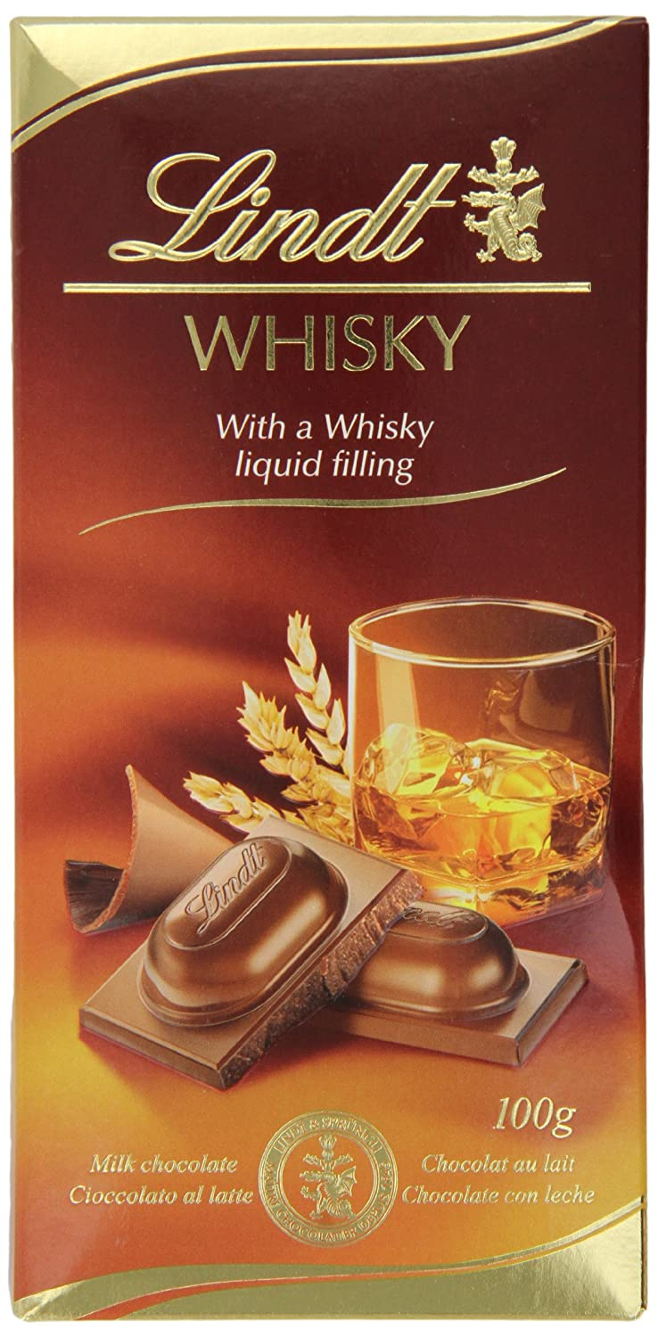 Lindt Whisky Liqueur Chocolate Bar 100 g (Pack of 6): Amazon.es: Electrónica