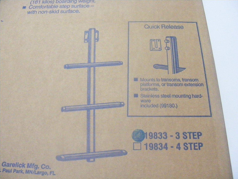 Garelick Stainless Steel 3-Step Sport//Dive Ladder
