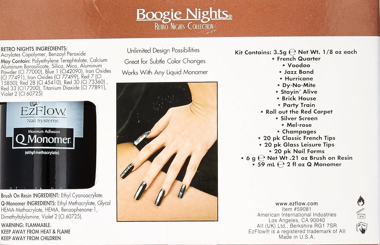 Amazon.com : EZ Flow Boogie Nights Collection, Retro Nights Kit ...