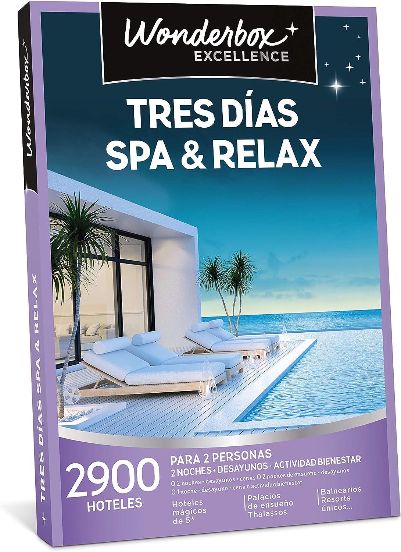 wonderbox tres dias spa y relax