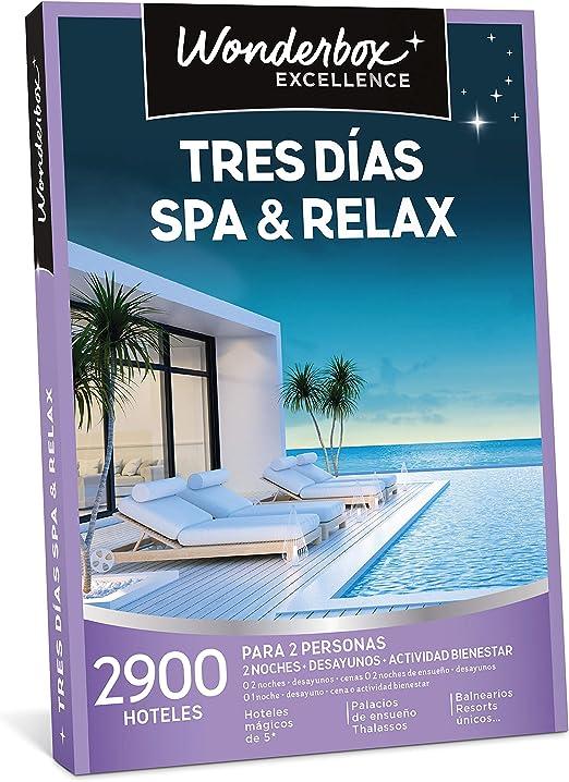 WONDERBOX Caja Regalo - Tres DÍAS SPA & Relax - Dos Noches con ...
