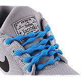 CATERPYRUN (キャタピラン) 結ばない靴紐 50cm ターコイズブルー N50-TB