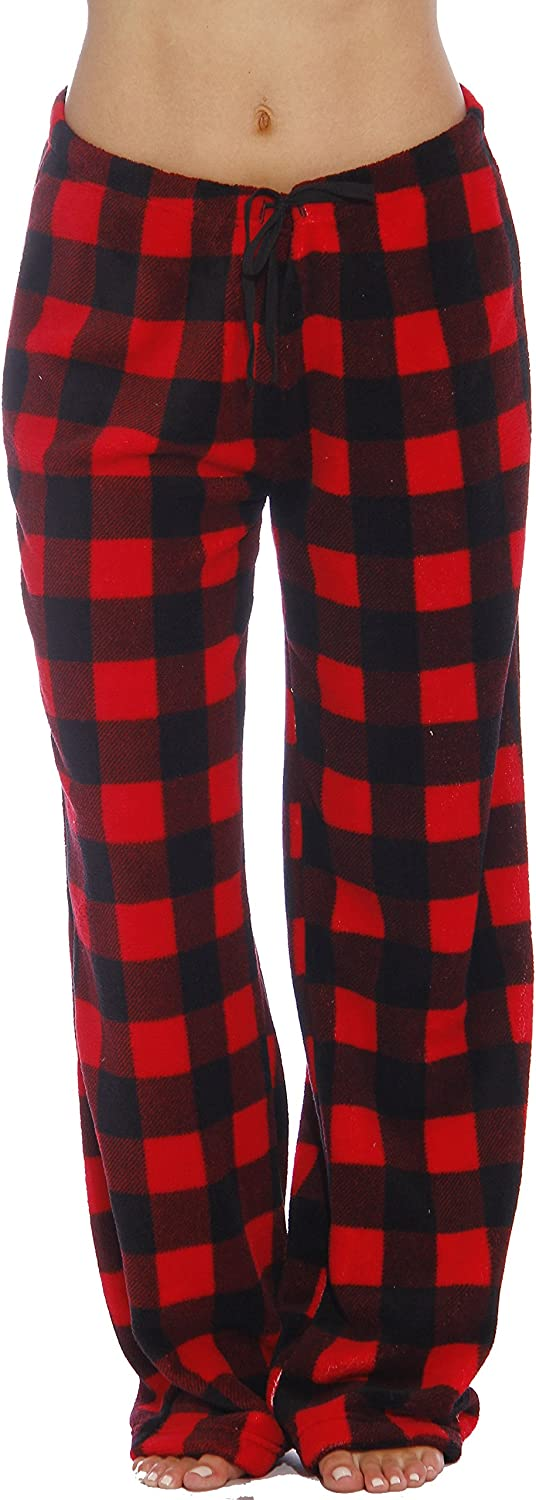 Just Love Women's Plush Pajama Pants at  Women's Clothing store