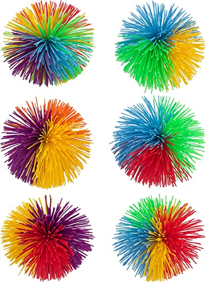 New 3 Pack 3 In Free Shipping! Colorful Stringy Ball Sensory and Stress uses