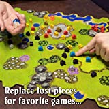100 Wooden Meeples - 16mm Extra Board Game