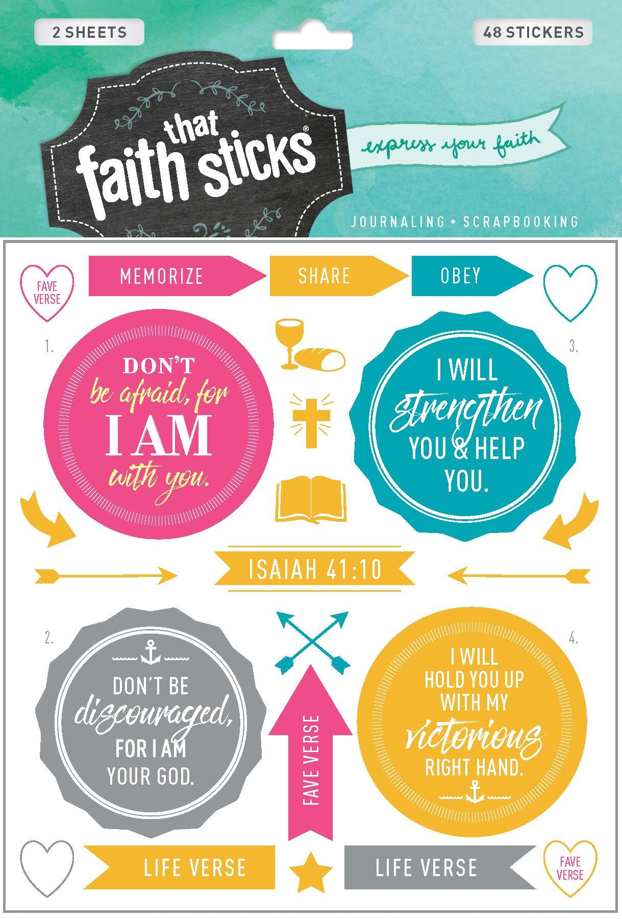 Isaiah 41:10 (Faith That Sticks Stickers) pdf