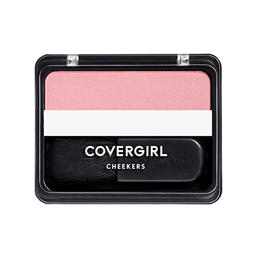 COVERGIRL Cheekers Blendable Powder Blush Natural Rose, .12 oz (packaging may vary)