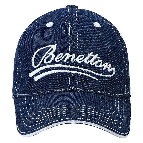 United Colors of Benetton Men s Baseball Cap (0IP6AMCAPD06I-32B-ST Sky  Blue St) 6c19e598355d