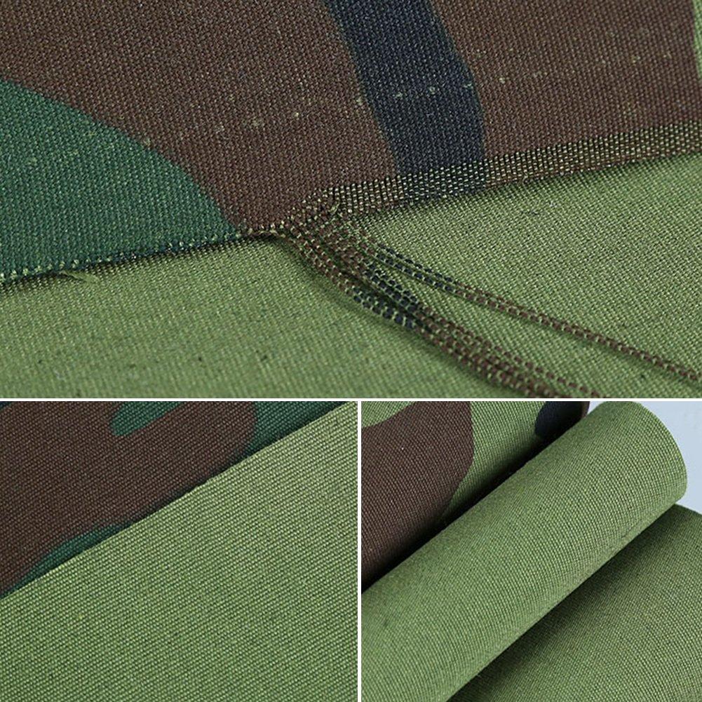 LXYFMS Militärplane Tarnung Leinwand Leinwand Leinwand Dick Wasserdicht Tuch Markise Tuch Oxford Tuch Regen Tuch Markise Im Freien Tuch Outdoor-Plane (größe   4 x 4m) B07M8SGCZJ Zelte eine große Vielfalt von Waren 7bf7c1