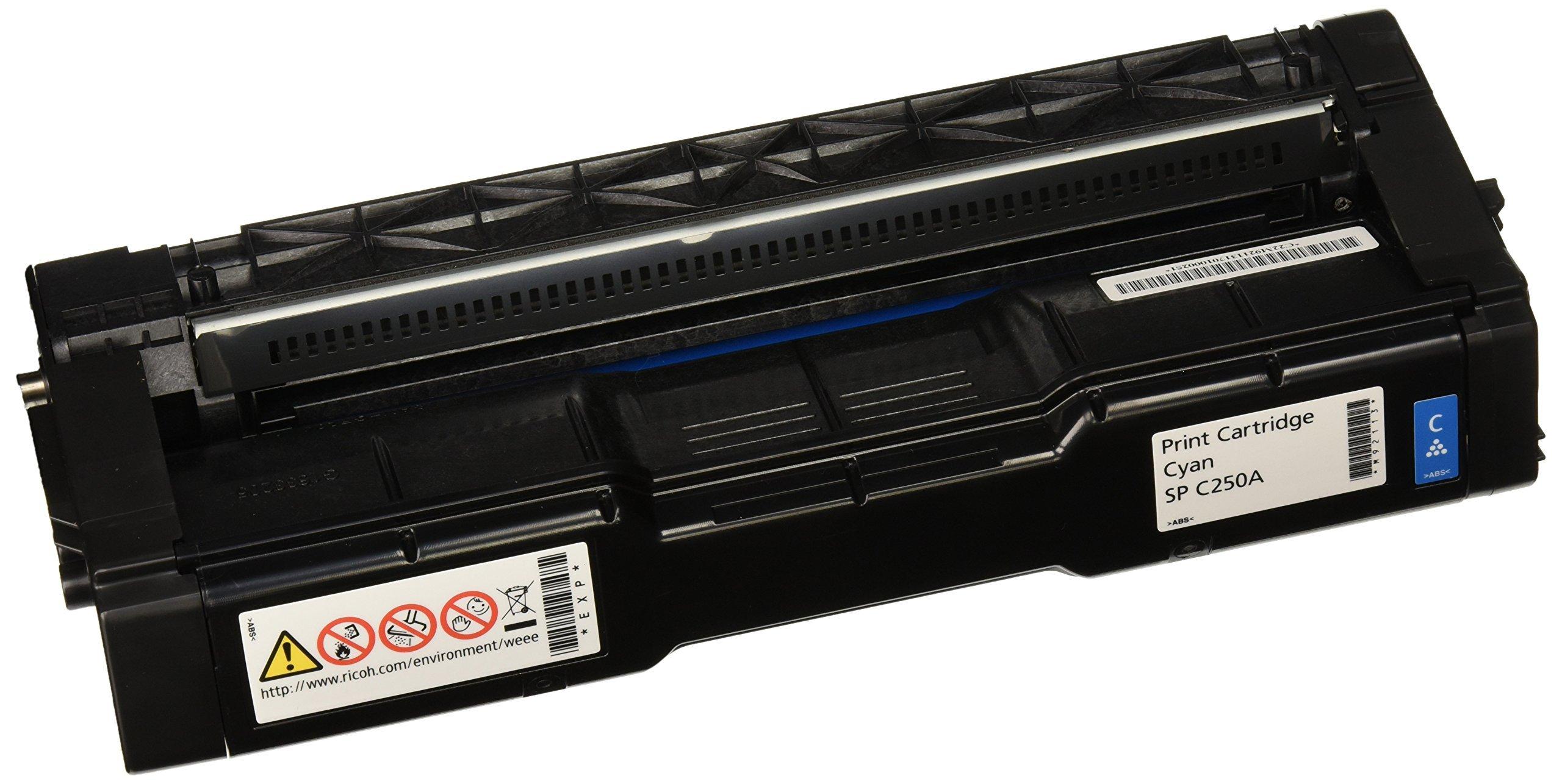 Ricoh Cyan Toner Cartridge, 2300 Yield (407540)