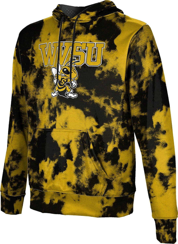 School Spirit Sweatshirt Grunge ProSphere West Virginia State University Mens Pullover Hoodie