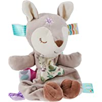 Taggies Lovey Stuffed Animal Soft Toy, Flora Fawn, 11-Inches