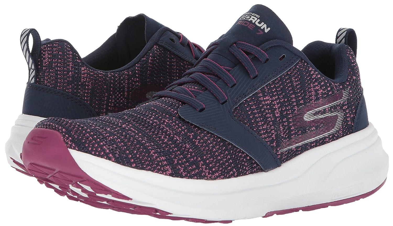 Skechers Women's Go Ride 7 B(M) Running Shoe B073GBTSGZ 10 B(M) 7 US|Navy/Purple 31e7df