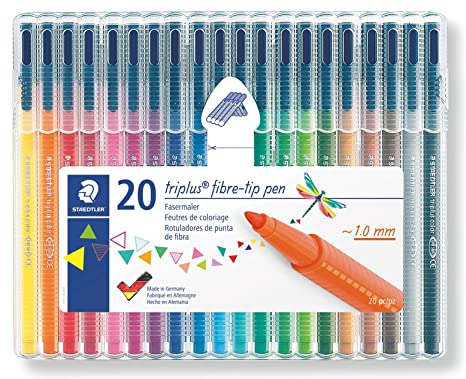 Feutre A Coloriage En Anglais.Staedtler Triplus Color Feutres De Coloriage De Haute