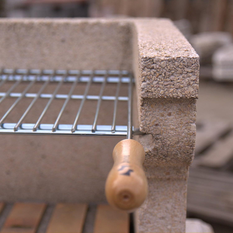 Sauvic 02722-Ausziehbarer Grillrost von 52 bis 62 cm x 40 cm.