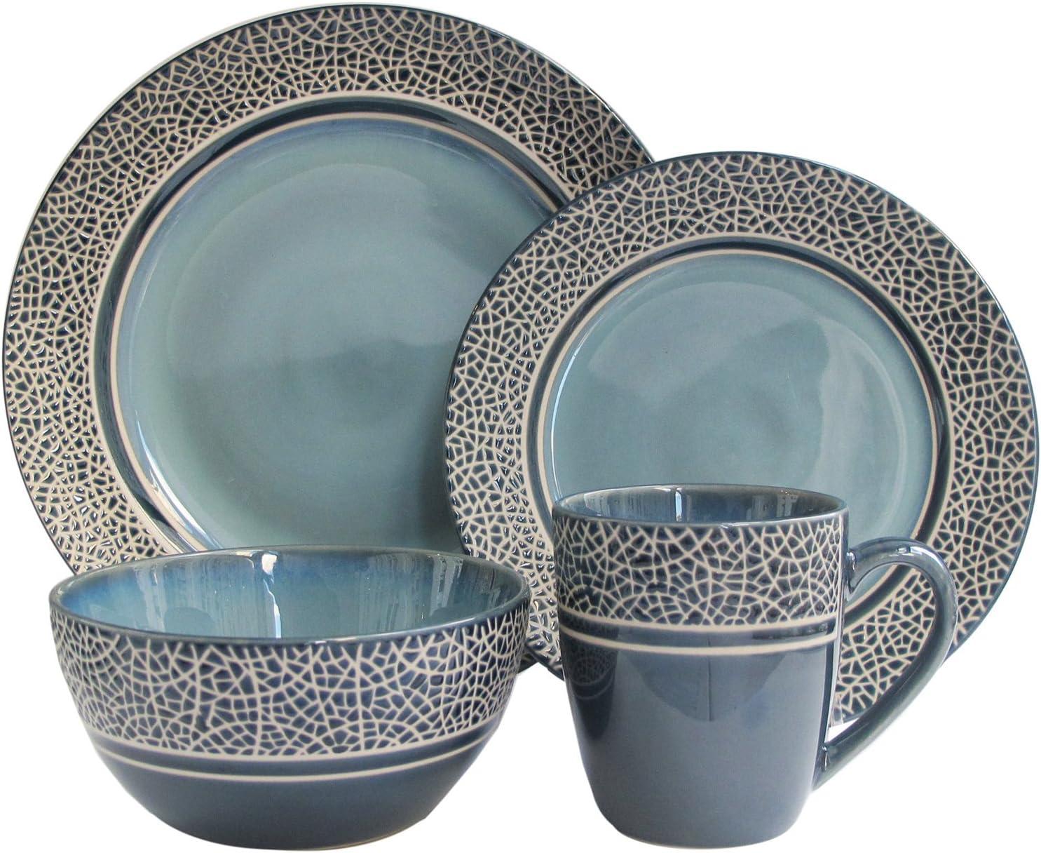 American Atelier Markham Dinnerware Set  sc 1 st  Amazon.com & Amazon.com: Dinnerware Sets: Home \u0026 Kitchen