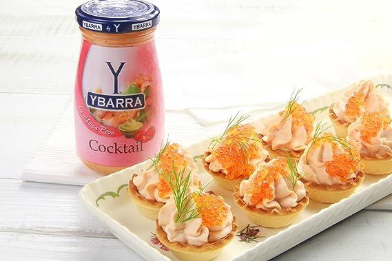 Ybarra - La clásica Rosa - Salsa Cocktail - 225 ml - , Pack de 6: Amazon.es: Alimentación y bebidas
