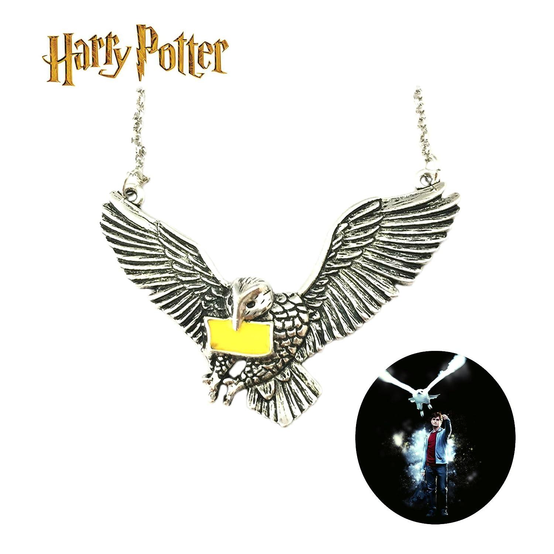 Collar de disfraz de búho de peluca de Harry Potter de ...