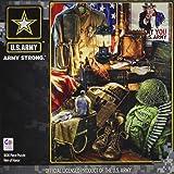 MasterPieces U.S. Army Men of Honor - Army Vintage Memorabilia 1000 Piece Jigsaw Puzzle by Dona