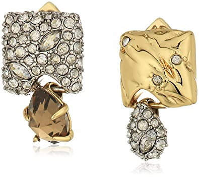 3affcce09 Amazon.com: Alexis Bittar Fall 2017 Mismatched 10k Gold with Rhodium ...