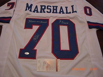 e6fd05be Amazon.com: Signed Leonard Marshall Jersey - Ny Giants Sb Xxi xxv ...