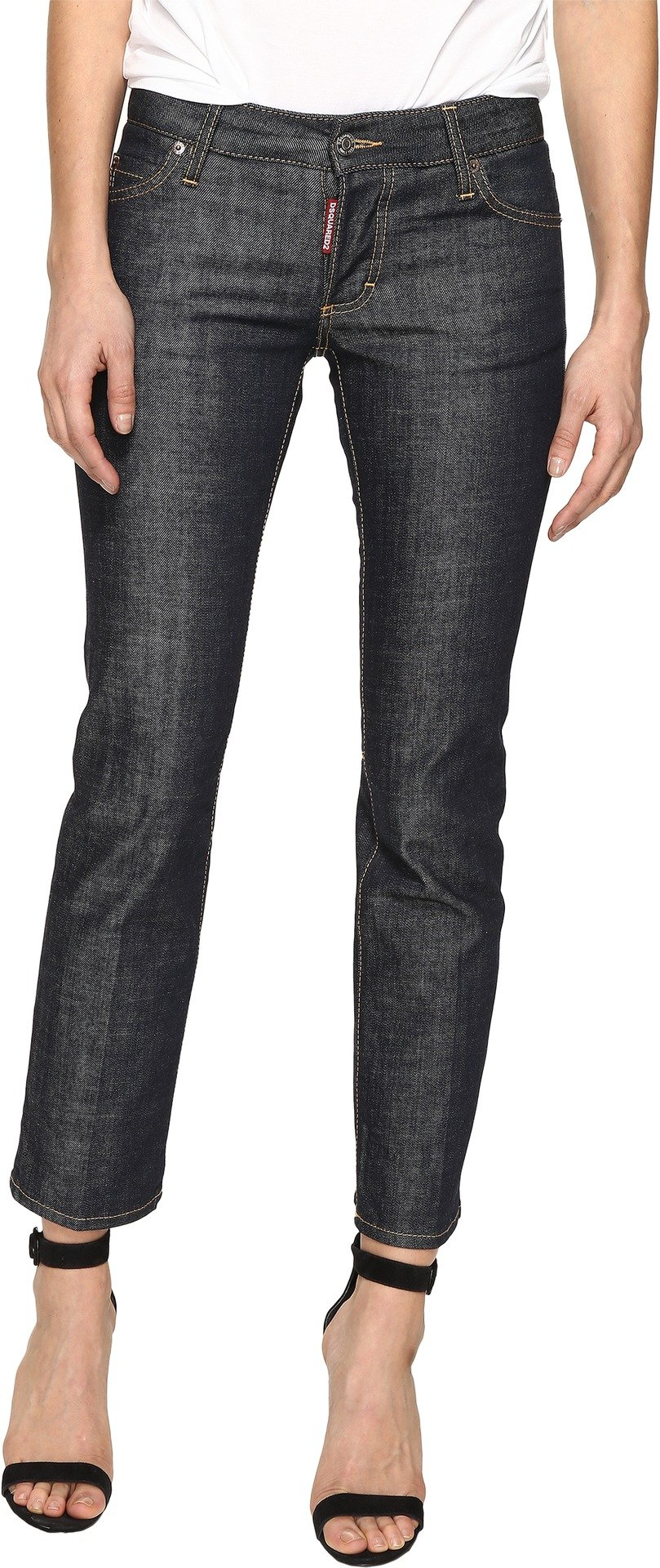 DSQUARED2 Women's Billy Denim Pants In Blue Blue 42 by DSQUARED2