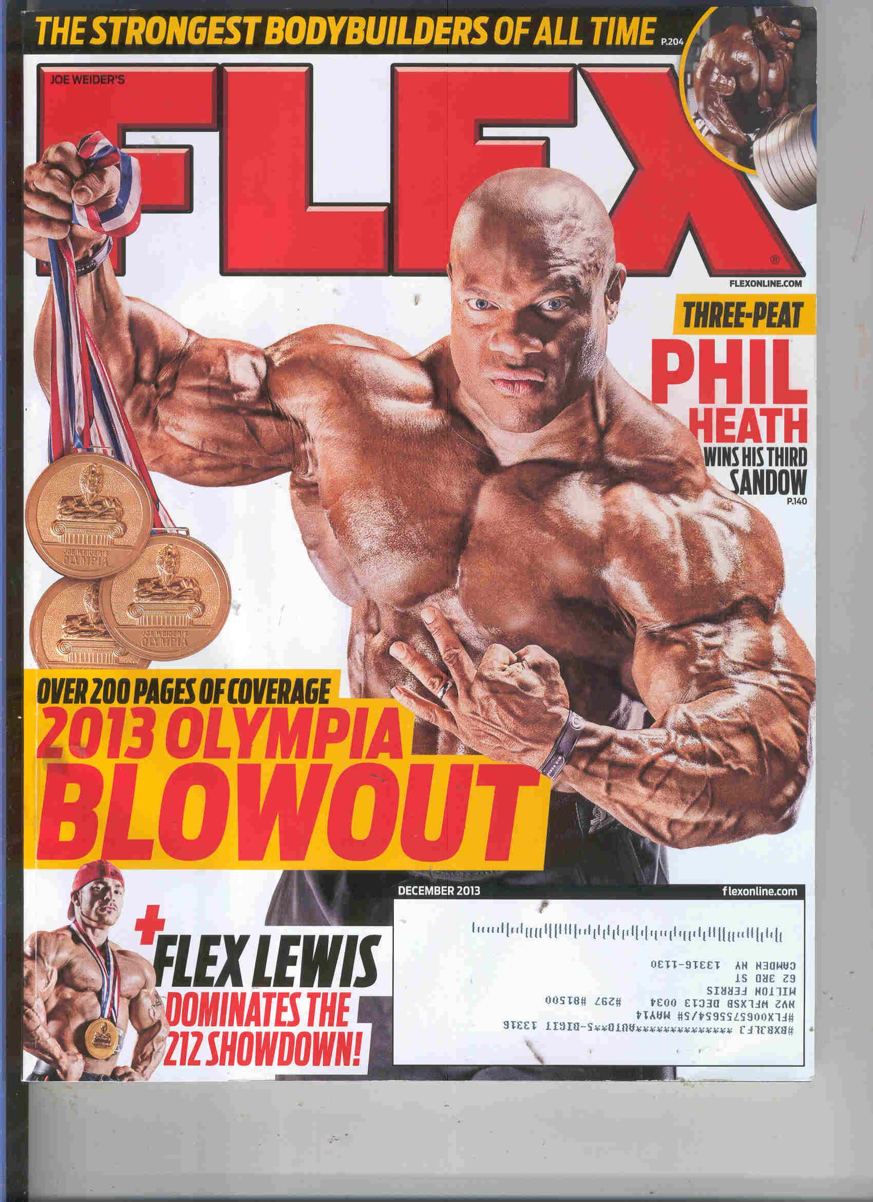 Flex Magazine December 2013/ 2013 Olympic Blowout Issue pdf