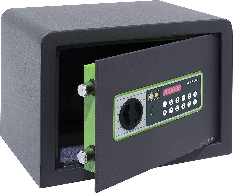 Arregui Supra 240160 Caja Fuerte Electrónica, 41L, 38x35x36 cm: Amazon.es: Bricolaje y herramientas