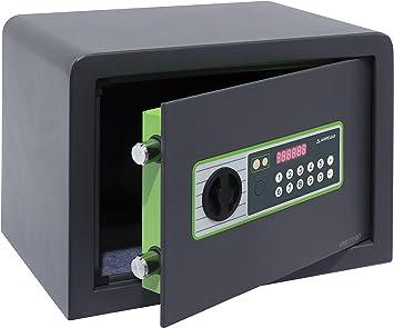 Arregui Supra 240120 Caja Fuerte Electrónica, 17,5L, 25x35x25 cm ...