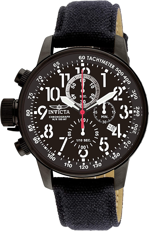 Invicta 1517 I-Force Reloj para Hombre acero inoxidable Cuarzo Esfera negro