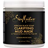 Shea Moisture African Black Soap Clarifying Mud Mask by Shea Moisture for Unisex - 6 oz Mask, 170 g
