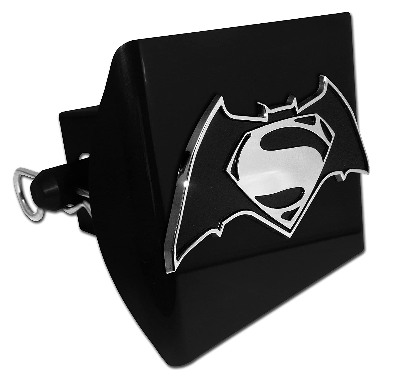 Elektroplate Batman v Superman Dawn of Justice Black All Metal Hitch Cover