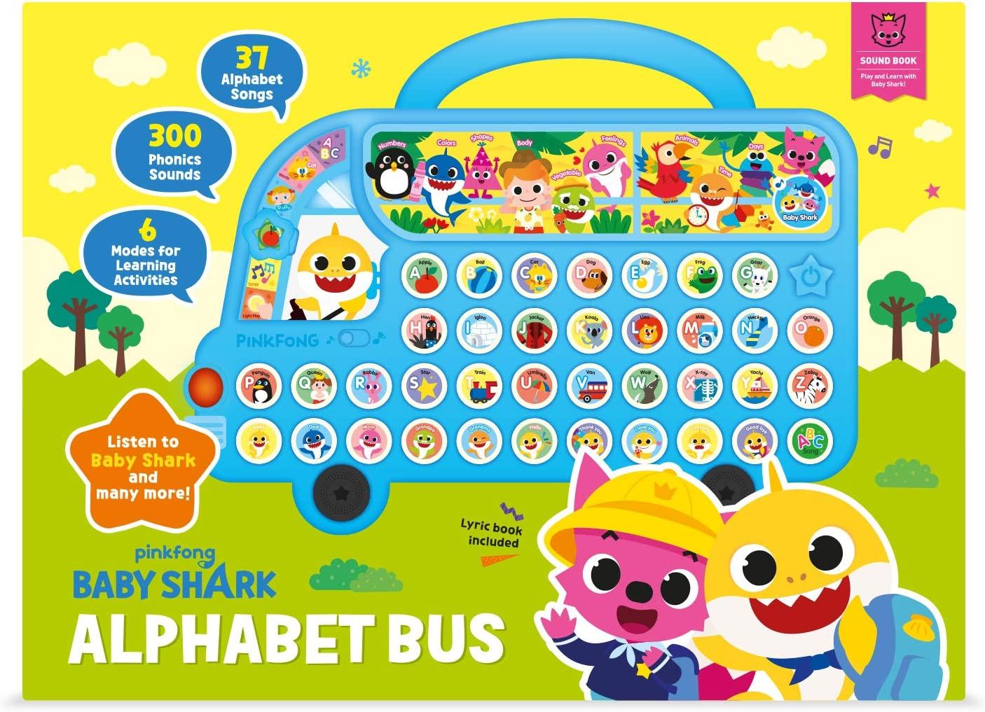 Pinkfong Baby Shark Official Alphabet Bus 2nd Edition