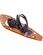 Morpho Trimoette Adult Snowshoes Light, Snowboard Type with Ankle Straps and No Pad