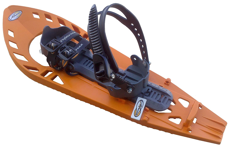 Morpho - Racchette da neve da adulto Trimoette Light con cinturini caviglia stile snowboard, senza imbottitura 13MHRAQOLE